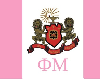 Phi Mu Flag - 3' X 5' Officially Approved