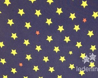 Softshell with Fleece Inside Stars Blue
