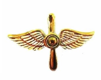 5x USSR Russian Soviet Army Military Soldier Pilot Shoulder Pins Air Force Aviation Badges Insignia
