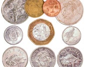 10 Seychelles Coins from East Africa. Island coins, African coins, Old coins, Collectible coins, Coin collection, Coin set