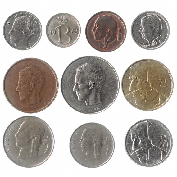 Netherlands Coin Lot Full Set of Pre-Euro Dutch Coins Free Shipping!!!!