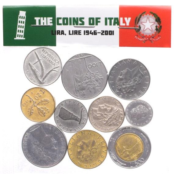 Menge Mixed 10 Münzen 4 Pfund 18 Kg Italienische Münzen Etsy