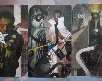 Dragon Age Inquisition Inspired Laminated Big Tarot Card Dorian Inquisitor Party Member Book Mark