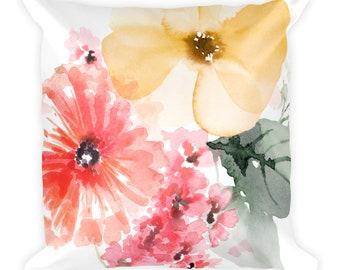 Bouquet Bloom Pillow 18x18