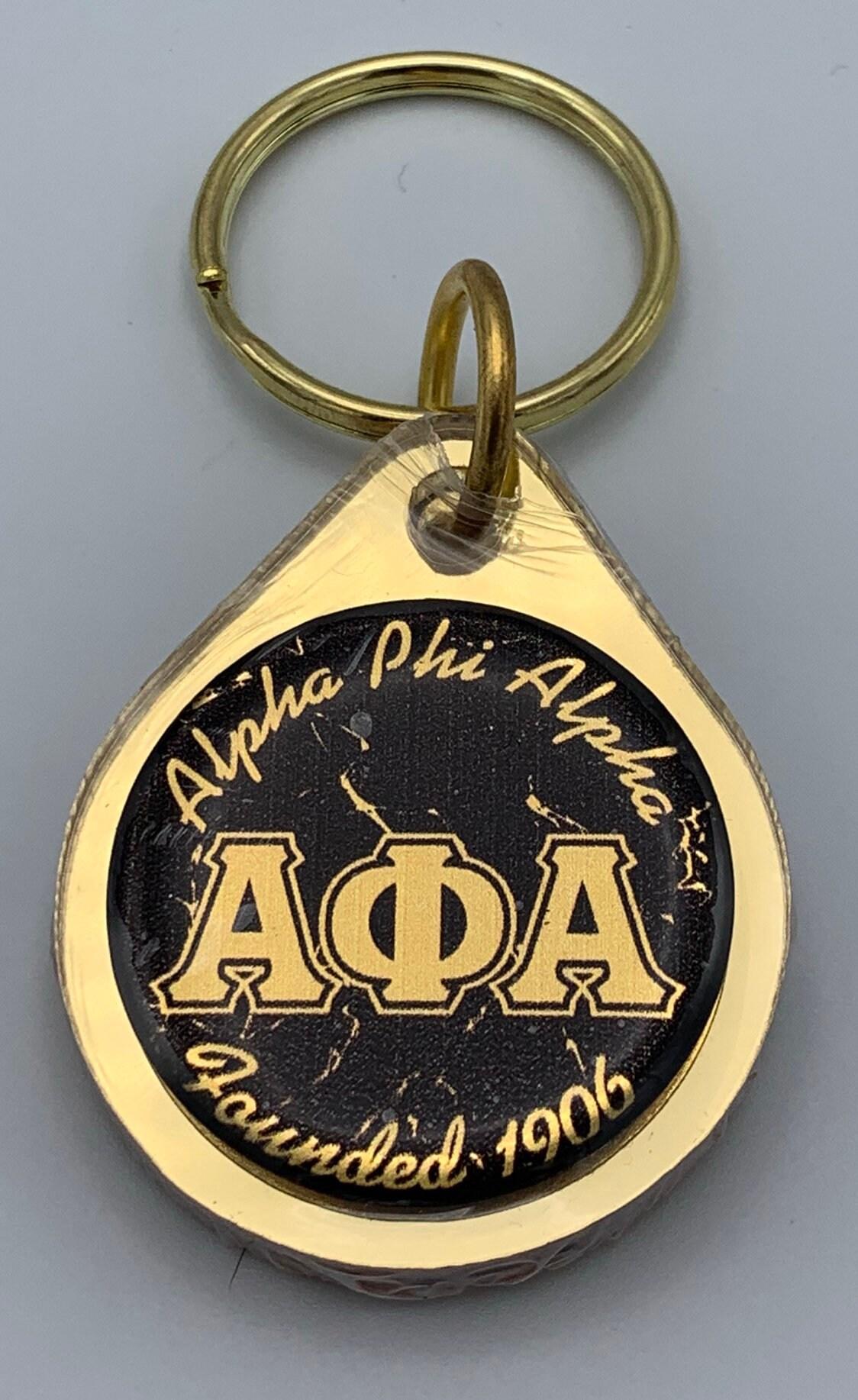 Alpha Phi Alpha Dog Tag and Lapel Gift Box Set