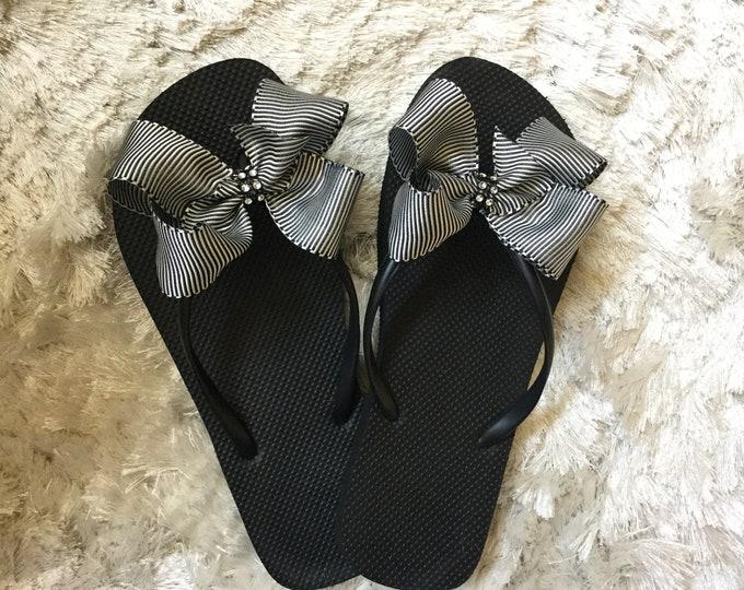 1e22a36c4 Women s Flip Flops - BrendasCheerBows