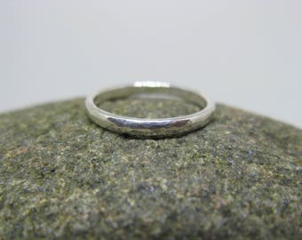 Textured Sterling Silver Ring