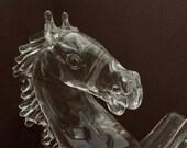 Arnolda Zanella Crystal Horse rearing his might