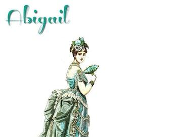 Paper Doll Abigail