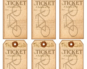 TicketS to a Summer of Fun Tags
