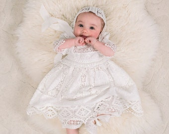 bb5e30de15cb SALE - Girls Blessing Dress, Girls Christening Dresses, Baptism Dresses for  Girls - New w/ Small Imperfections - FINAL SALE - Dress Only