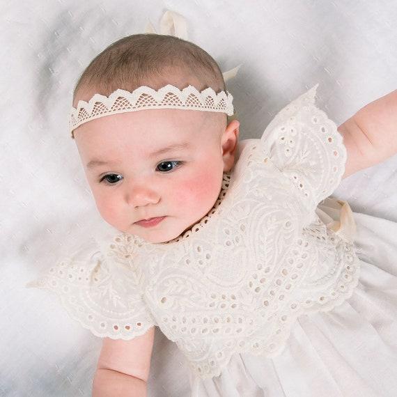 Baby Girl Lace Headband  Ingrid  Newborn Girl  d9f00ee872a