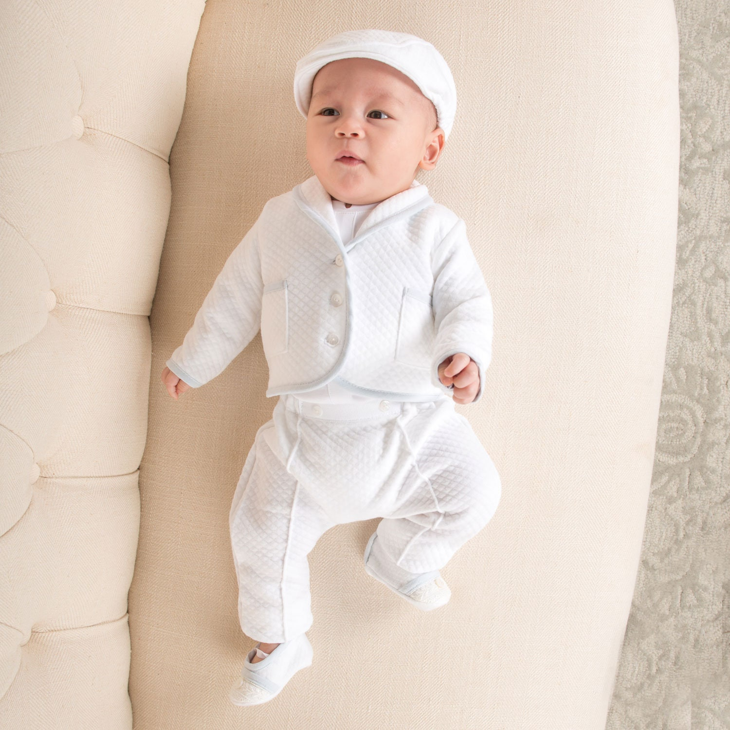 504a77b133a95 Baby Boys Christening Outfit Suit 'Harrison' Boys   Etsy