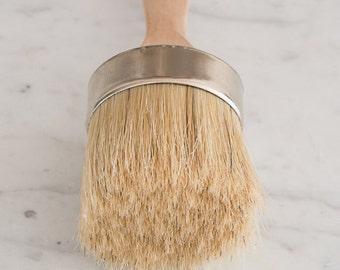 Miss Mustard Seed Milk Paint - Large Paint & Wax Brush - 100% Natural Bristles -