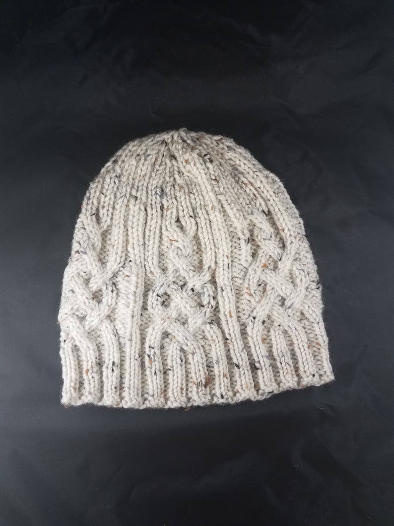 748ef643f2f Cable knit hat winter hat cable knit winter hat cable