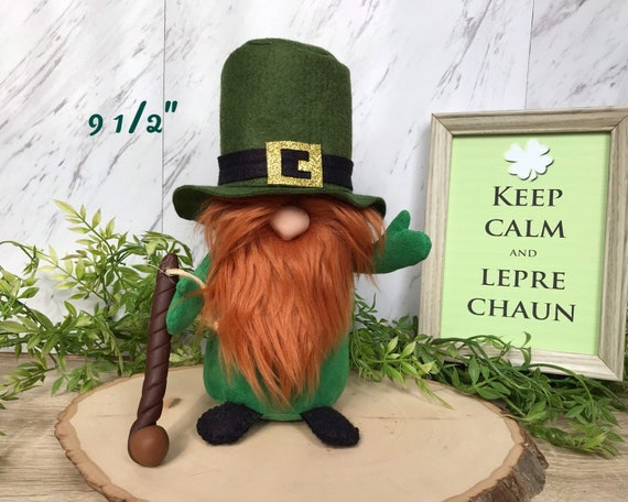 Irish Leprechaun Gnome St. Patricks Day Gnome Irish Gift  f8c29a5370ff