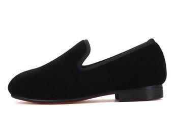 Merlutti KIDS Shoes Children Plain Velvet Loafers