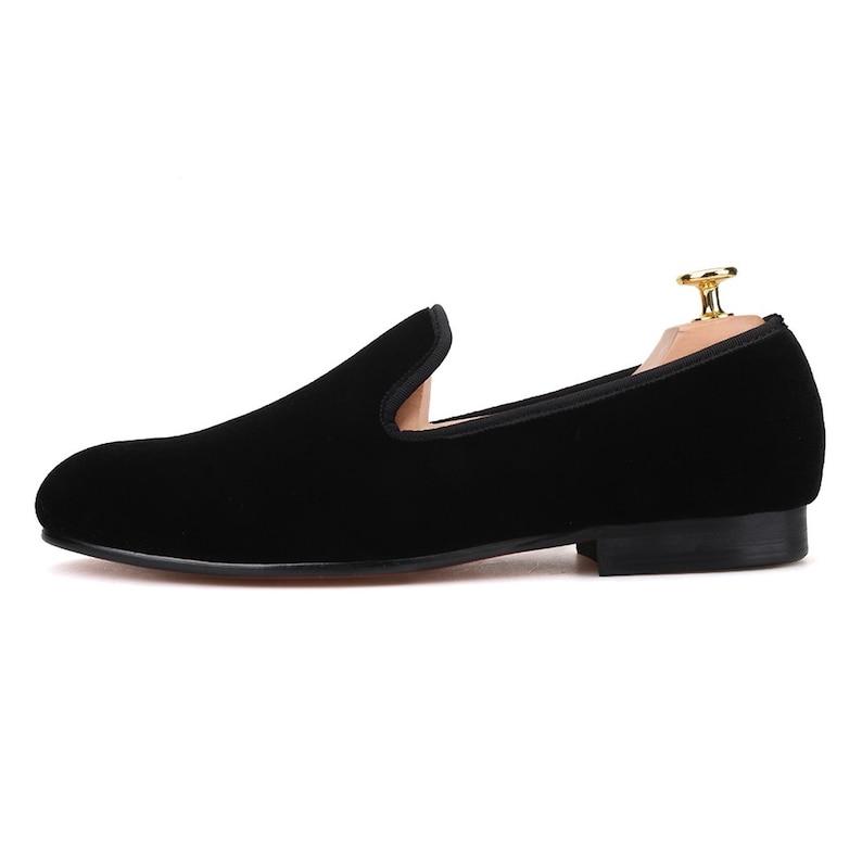 8233bcf572e Merlutti Plain Black Velvet Slippers Loafers