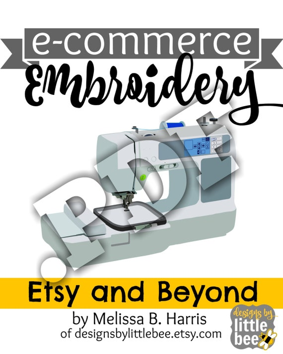 Items similar to PDF ebook E-Commerce Embroidery: Etsy and ...
