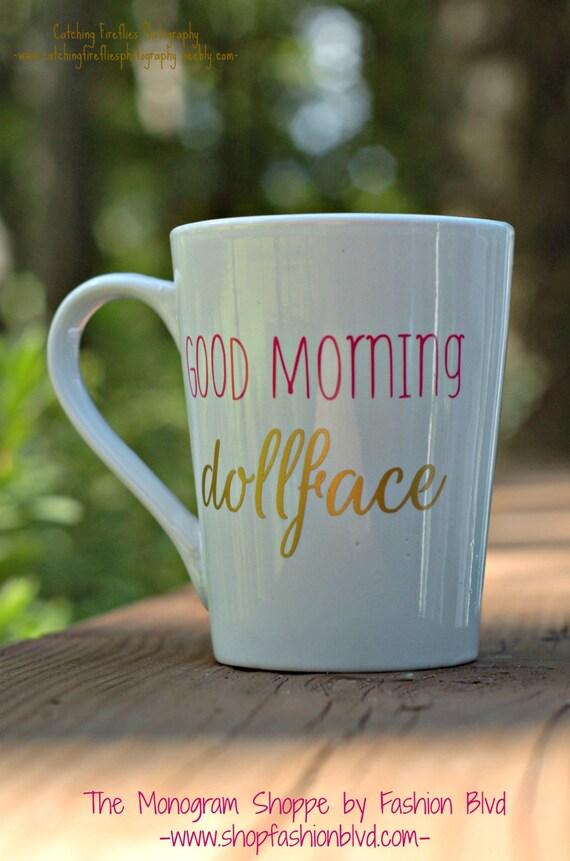 Guten Morgen Dollface Kaffeebecher Perfekte Freundin Geschenk Weiße Kaffeetasse Für Ihre Frau Freundin Liebste