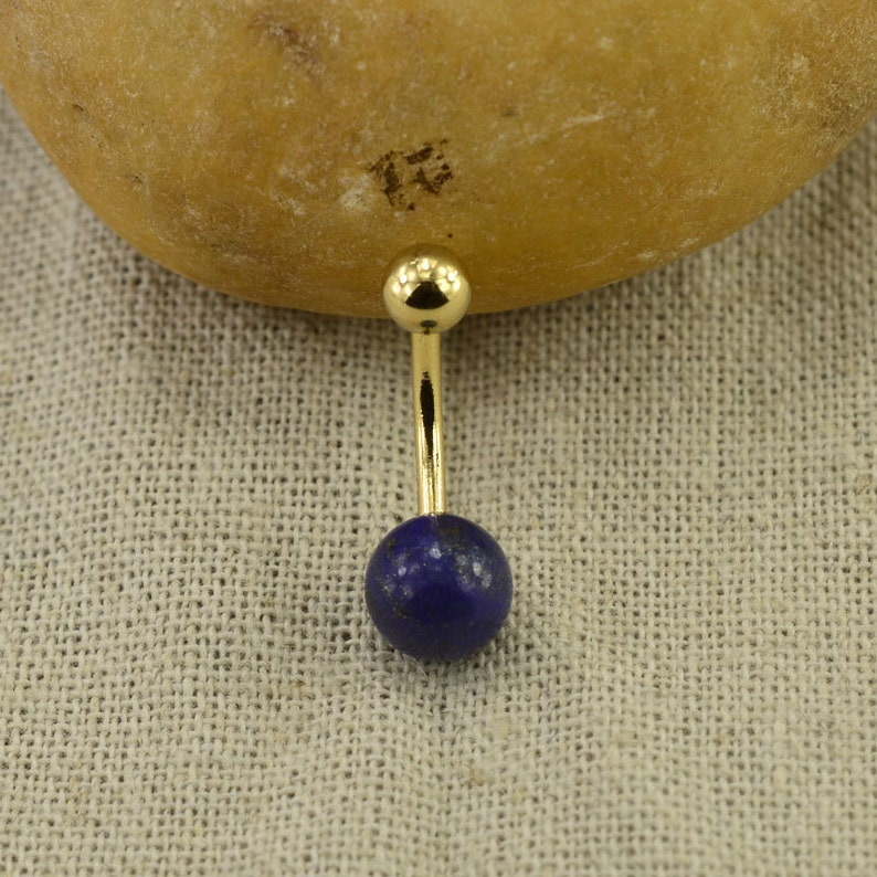bellybutton ring lapis lazuli belly ring belly button jewelry,girlfriend belly ring,belly piercing