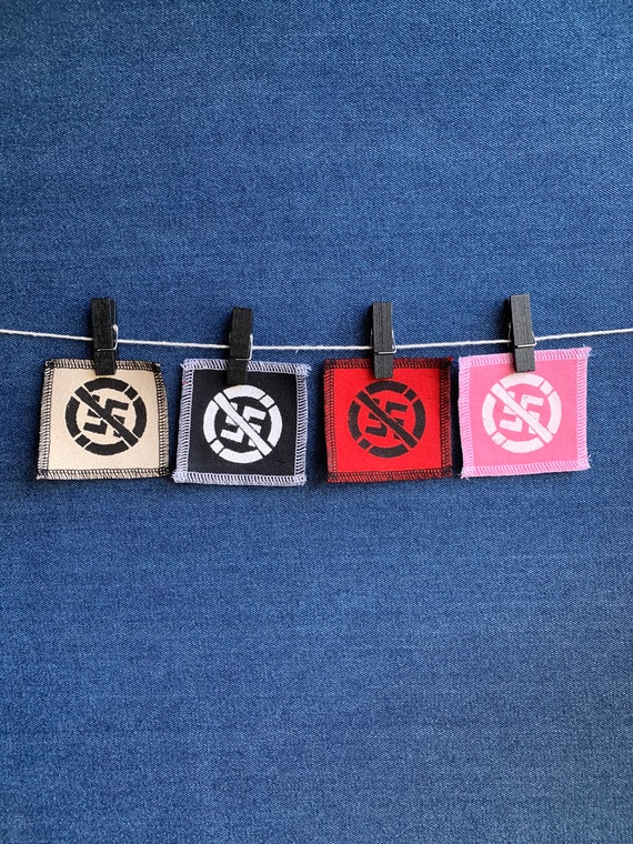 Anti-Nazi Symbol Patch