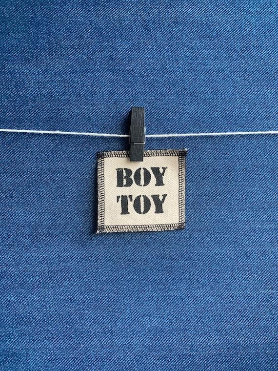 Boy Toy Patch