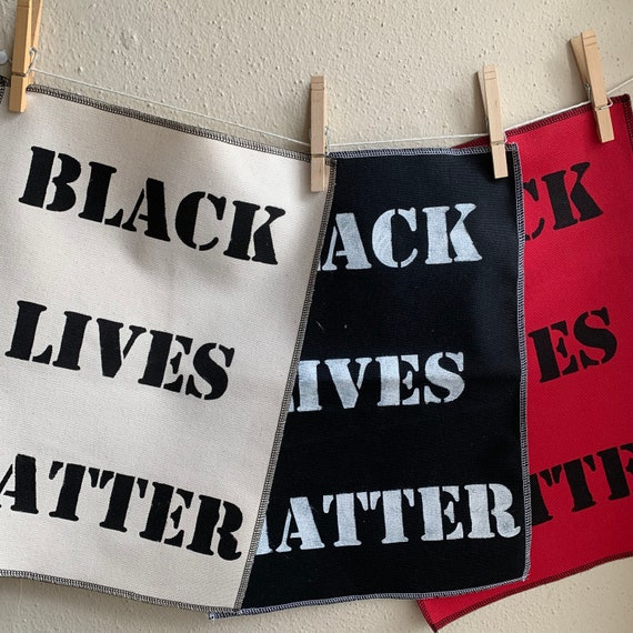 Black Lives Matter Back Patch