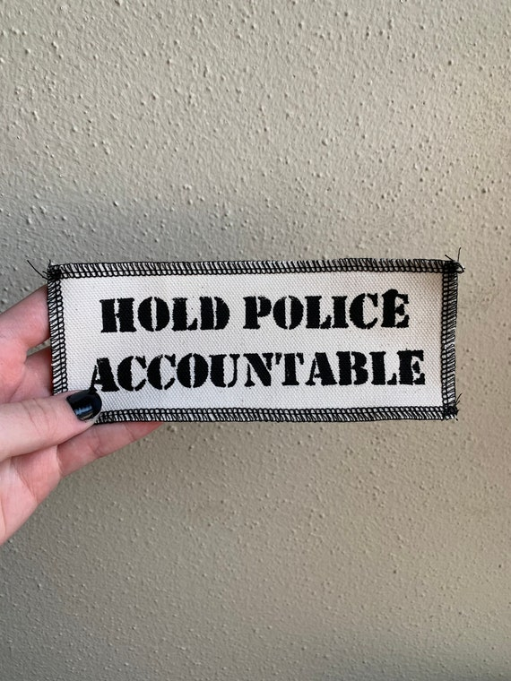 Hold Police Accountable Patch