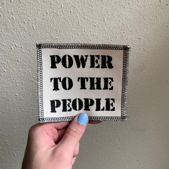 Power To The People Patch