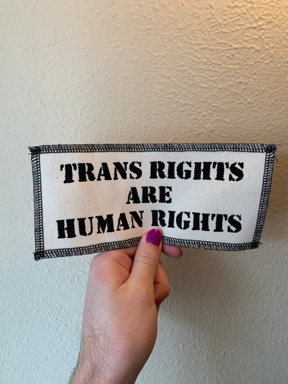 Trans Rights Are Human Rights Patch