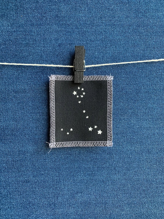 Pisces Constellation Patch