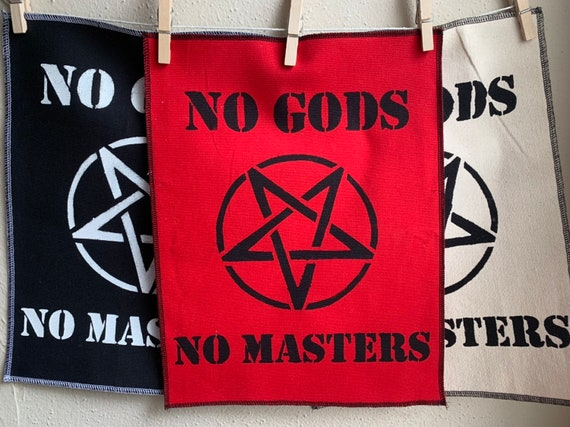 No Gods No Masters Back Patch