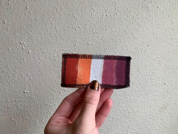 Lesbian Flag Patch