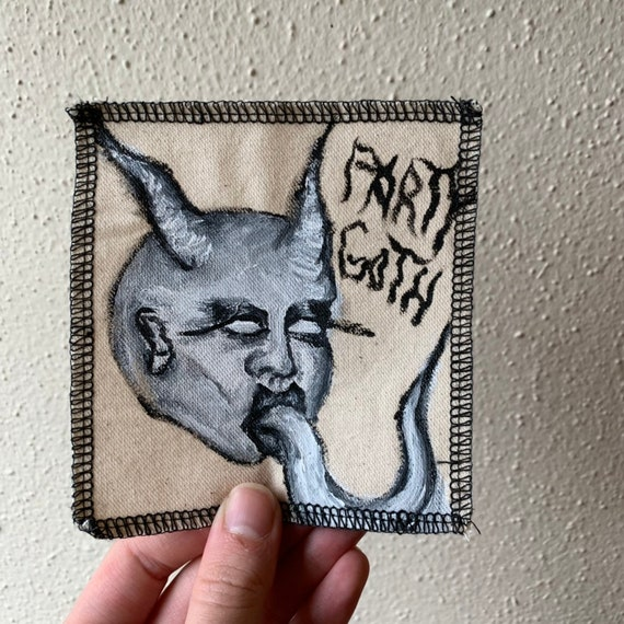 Demon Patch Hand Painted by Dungeon Cowboy