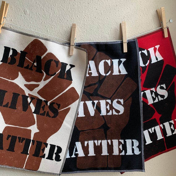 Black Lives Matter Layered Back Patch