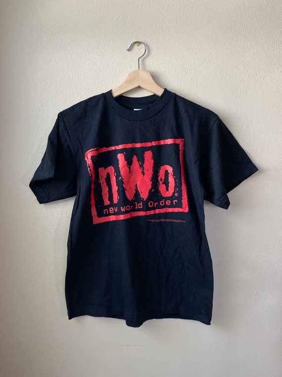 Vintage 1998 NWO WCW Kids Graphic Tee