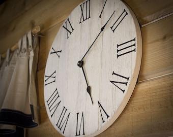 Farmhouse Wall Clock ...