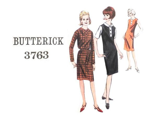 60s Shift Dress Sewing Pattern Sewing Pattern for Women   Etsy
