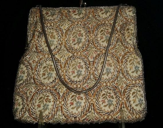 Elegant Vintage Walborg Beaded Evening Bag, Circa… - image 5