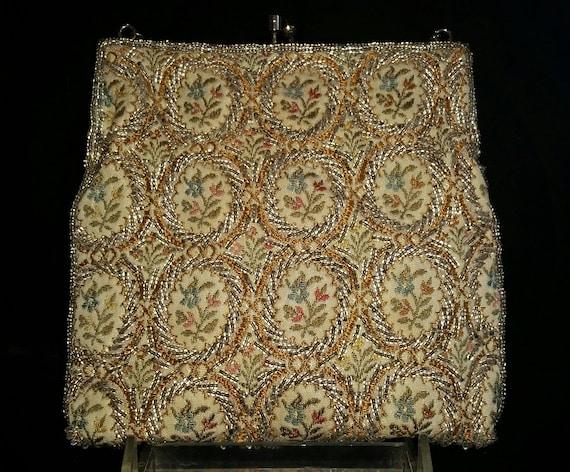 Elegant Vintage Walborg Beaded Evening Bag, Circa… - image 2
