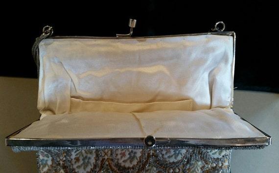 Elegant Vintage Walborg Beaded Evening Bag, Circa… - image 4