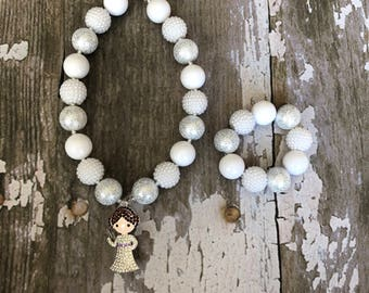 Princess Leia Necklace - Star Wars Necklace - Star Wars Chunky Necklace - Princess Leia Chunky Necklace - Disney Accesory - Disney Necklace