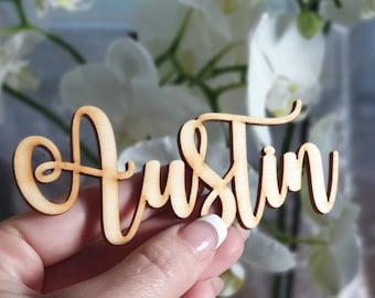 Wedding Place Cards Cake Toppers Laser Cut Von Engravecelebration