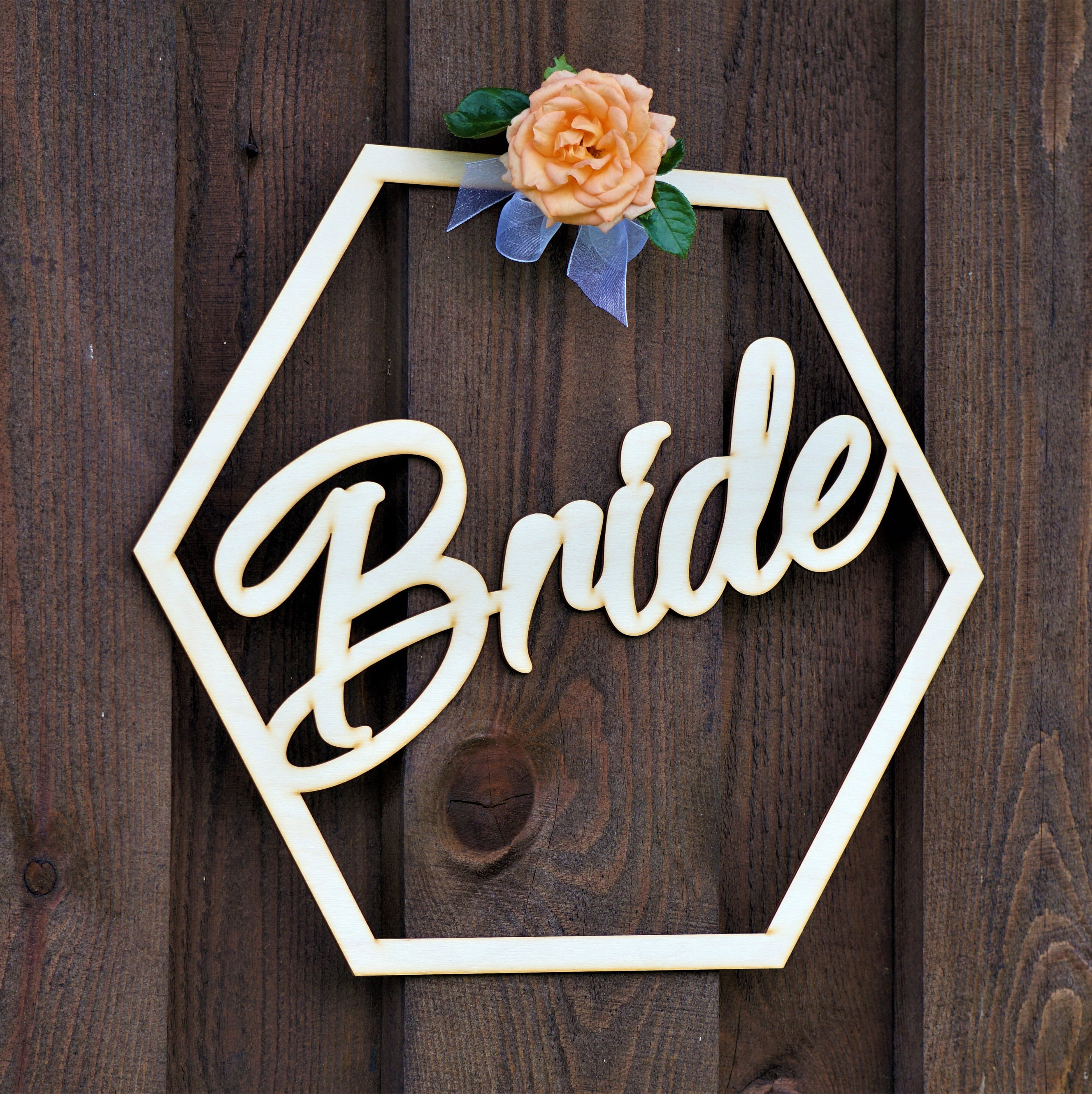 Chair Signs Set Bride And Groom Wooden Bride Sign Wooden
