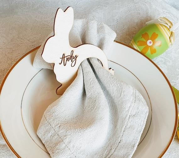 4 Vintage Table Paper Napkins for Decoupage Lunch Rabbit /& Carrot Napkin I21