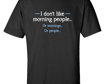 Organized People Sarcastic Graphic Gift Humor Novelty Funny Novelty T-shirts