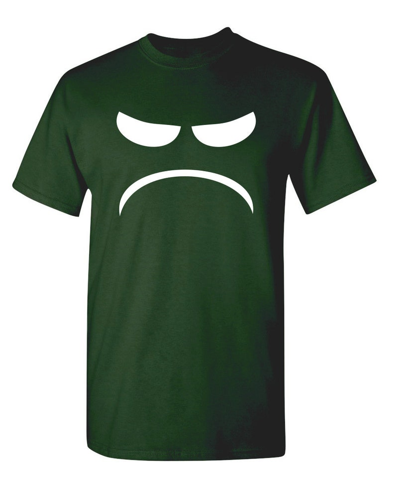 Mad Smile Sarcastic Humor Graphic Novelty Funny T Shirt