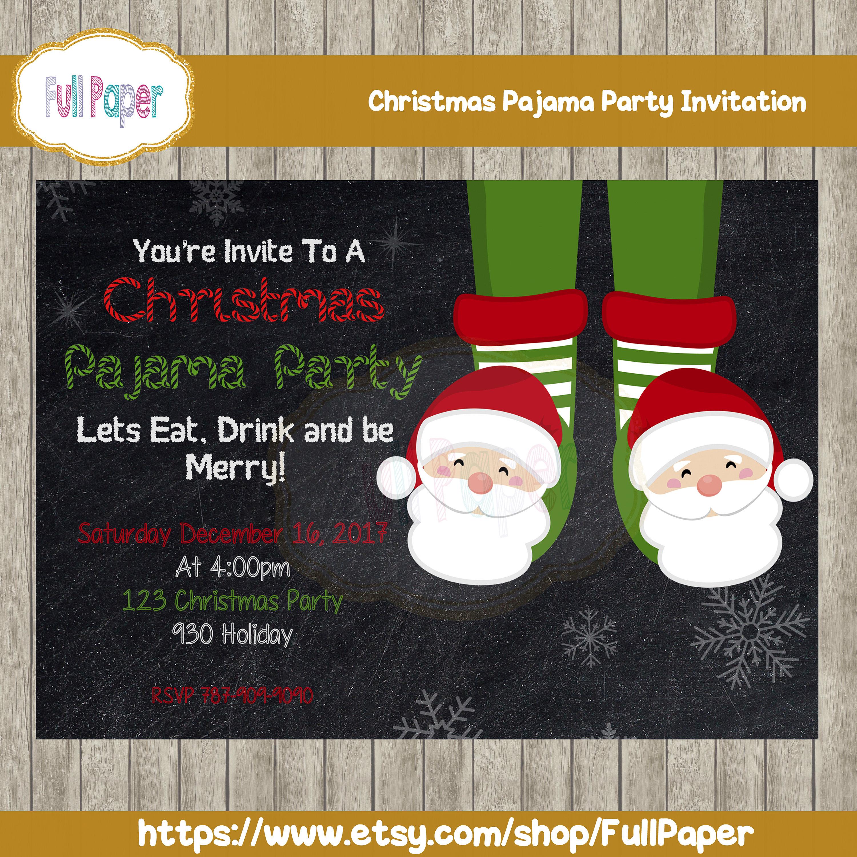 zoom - Christmas Pajama Party