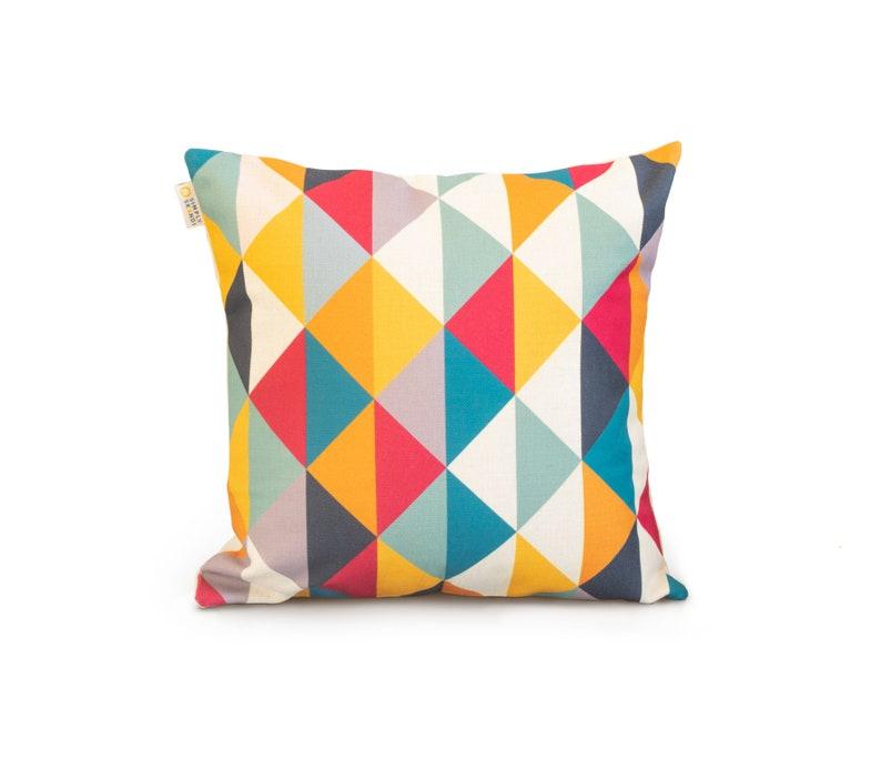 Multi Coloured Geometric Scandinavian kids Room home decor image 0